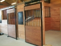 Horse Barn with Bi-Parting Sliding Doors