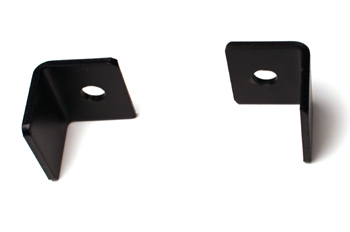 Series 105 Flat Track End Stop – Powder Coated
