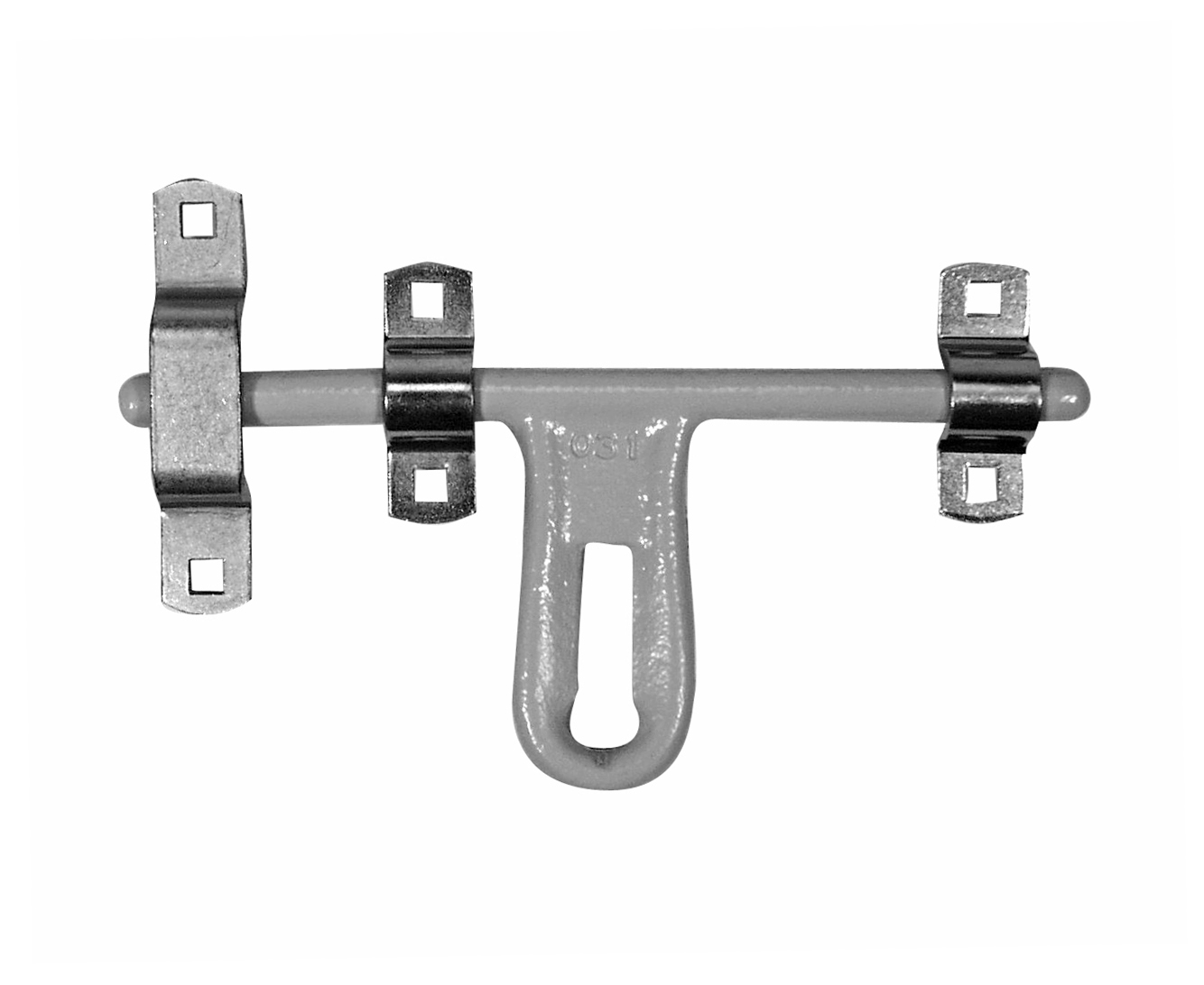 Door Latch, 12″ Latch, Offset – Zinc Plated
