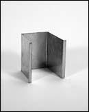 Series 232 End Blind, Stainless Steel