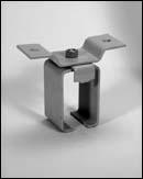 Series 232 Bracket, Cross Ear Center Lock-Joint® – Zinc Plated
