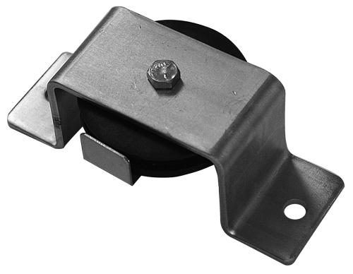 Standard Profile Flush Mount Pulley, Zinc Plated