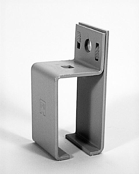 Series 376 Bracket, Sidewall Center – Zinc Plated