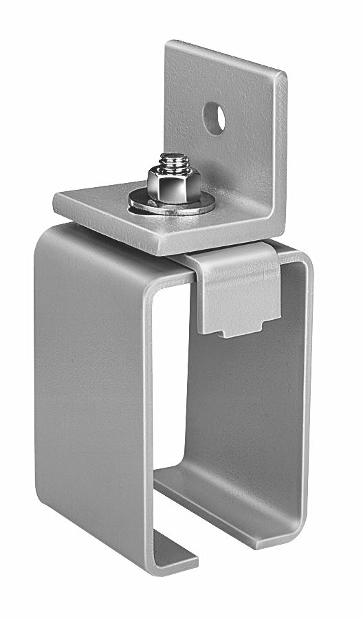 Series 376 Bracket, Sidewall Lock-Joint® Zinc Plated
