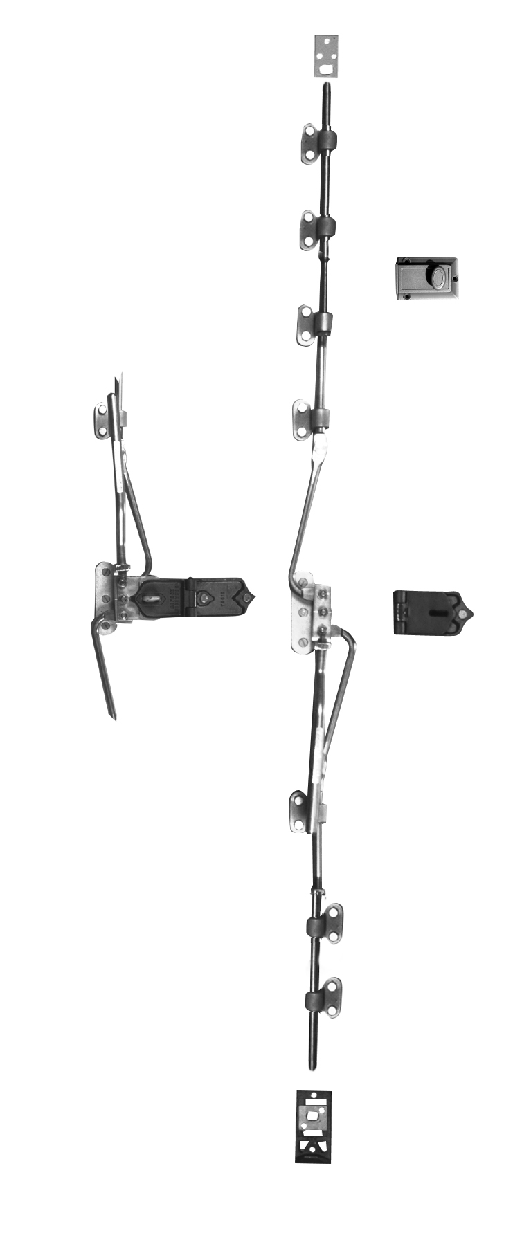Cremone Bolt Auxiliary Handle Package