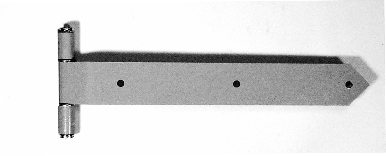 1036 Ball-Bearing Decorative Hinge – 24″ Long – Powder Coat