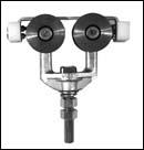 Truck Assembly, Anti Kickup – ball-bearings (pair) – Zinc Plated