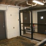 Sliding Door Track for Zoos, Ungulate Pen