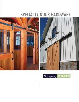 RW Hardware Standard Brochure