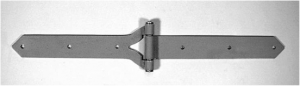 Center Strap Hinge for Swinging Doors