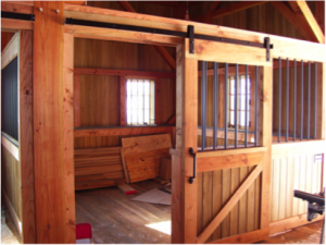 Flat Track Sliding Door Systems for Barn & Stable Applications