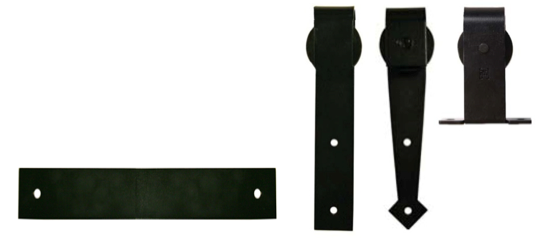 Sliding Doors Hardware Flat Box Track Systems