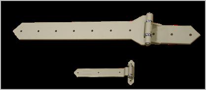 Swinging Door Hardware Decorative Strap Hinges Rw Hardware