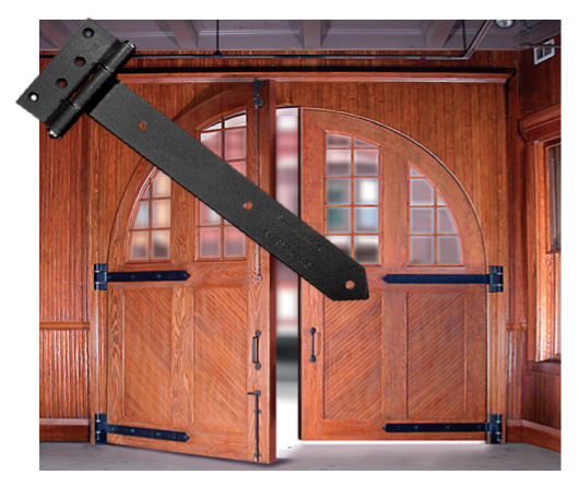 Swinging Door Strap Hinges And Hardware