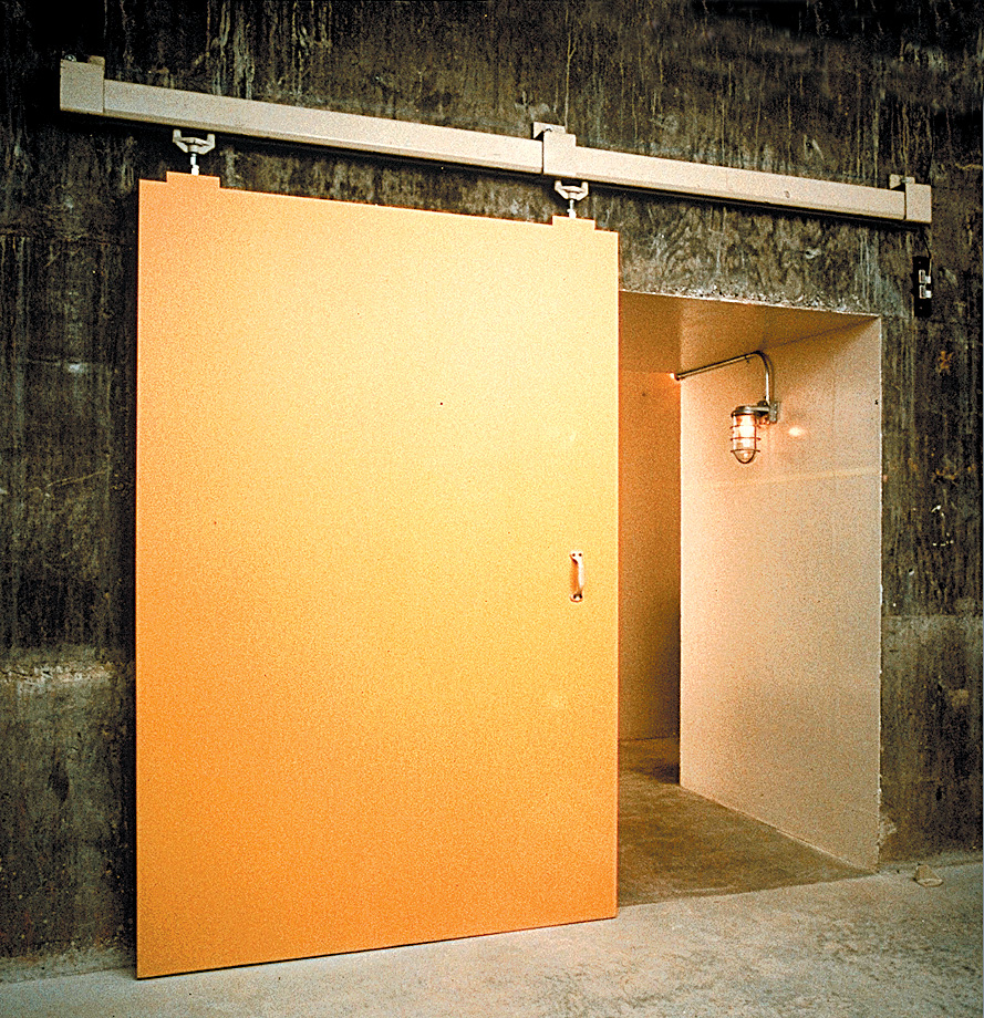 Industrial sliding doors safety installation and operation for Sliding walls and doors